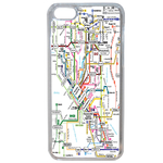 Coque Rigide Carte De Metro Apple iPhone 7