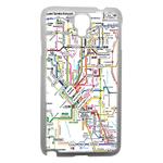 Coque Rigide Carte De Metro Samsung Note 3 Neo