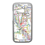 Coque Rigide Carte De Metro Pour Htc One Mini 2