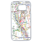Coque Rigide Carte De Metro Pour Samsung Galaxy S6 Edge Plus