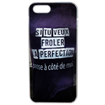 Coque Rigide Pour Apple Iphone 5 - 5s Motif Citation Femme 1 Humour