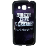 Coque Rigide Pour Samsung Galaxy Grand 2 Motif Citation Femme 1 Humour