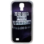 Coque Rigide Humour Femme 1 Pour Samsung Galaxy S4