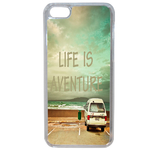 Coque Souple Pour Apple Iphone 6 Plus - 6s Plus Motif Life Adventure Message