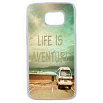 Coque Souple Pour Samsung Galaxy S7 Edge Life Adventure Message