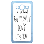 Coque Rigide Humour I Don't Like You Pour Samsung Galaxy J5