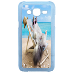 Coque Rigide Humour Chat 2 Pour Samsung Galaxy J5
