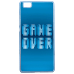 Coque Rigide Geek Game Over 1 Pour Huawei Ascend P8 Lite