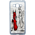 Coque Rigide Ange Ou Demon Pour Samsung Galaxy Grand Prime