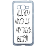 Coque Rigide Pour Samsung Galaxy Grand Prime Motif Bitch Humour Macho