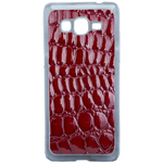 Coque Rigide Pour Samsung Galaxy Grand Prime Motif Crocodile Rouge