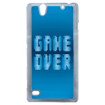 Coque Rigide Geek Game Over 1 Pour Sony Xperia C4