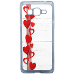 Coque Rigide Coeur Samsung Galaxy Grand Prime