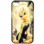 Coque Rigide Disney Fée Clochette Tatoo 1 Apple Iphone 4 - 4s