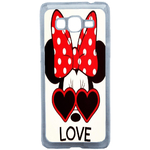 Coque Rigide Disney Minnie Love Samsung Galaxy Grand Prime