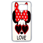 Coque Rigide Disney Minnie Love Samsung Galaxy S6