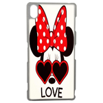 Coque Rigide Disney Minnie Love Sony Xperia Z3