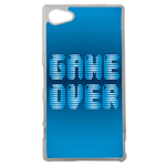Coque Rigide Geek Game Over 1 Pour Sony Xperia Z5 Compact