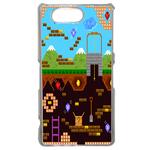 Coque Rigide Geek Jeux Video 3 Pour Sony Xperia Z3 Compact