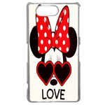 Coque Rigide Disney Minnie Love Sony Xperia Z3 Compact