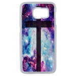 Coque Rigide Croix Galaxie Samsung Galaxy S6