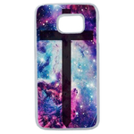 Coque Rigide Croix Galaxie Samsung Galaxy S6 Edge