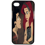 Coque Rigide Ariel Et Eric Couple Disney Apple Iphone 4 - 4s
