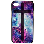 Coque Rigide Croix Galaxie Pour Apple Iphone 4 - 4s