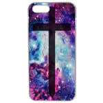Coque Rigide Croix Galaxie Pour Apple Iphone 5 - 5s