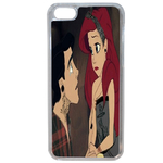 Coque Rigide Ariel Et Eric Couple Disney Apple Iphone 6 Plus - 6s Plus