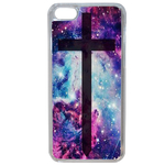Coque Rigide Croix Galaxie Apple Iphone 5c