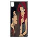 Coque Rigide Ariel Et Eric Couple Disney Sony Xperia Z3