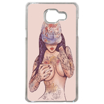Coque Rigide Girl Tatoo Pour Samsung Galaxy A5 2017