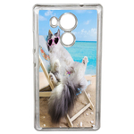 Coque Rigide Humour Chat 2 Pour Huawei Ascend Mate 8