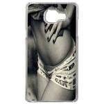 Coque Rigide Femme Noir Blanc Pour Samsung Galaxy A3 2017