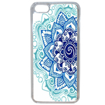 Coque Rigide Pour Apple Iphone 7 Motif Mandala Bleu