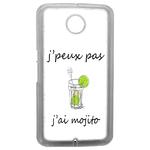 Coque Rigide Humour J'peux Pas J'ai Mojito Pour Google Nexus 6