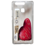 Coque Rigide Coeur Love Huawei Ascend P9