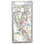 Coque Rigide Carte De Metro Huawei Ascend P9