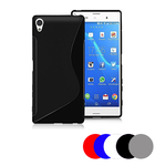 Coque Gel Vague S Pour Sony Xperia E5 + Film