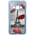 Coque Rigide Pour Samsung Galaxy J1 2016 Motif Tour Eiffel Paris 1 France