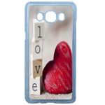 Coque Rigide Coeur Love Samsung Galaxy J7 2016