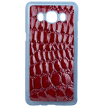 Coque Rigide Pour Samsung Galaxy J5 2016 Motif Crocodile Rouge