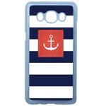 Coque Rigide Pour Samsung Galaxy J5 2016 Motif Marin Breton Marinière 2
