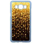 Coque Rigide Pour Samsung Galaxy J5 2016 Motif Pluie D'or Gold