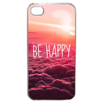 Coque Rigide Be Happy Love Pour Apple Iphone 4 - 4s