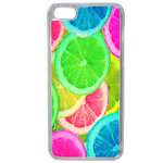 Coque Rigide Pour Apple Iphone 5c Motif Citron Flash Coloré Été