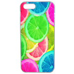 Coque Rigide Citron Flash Coloré Été Pour Apple Iphone 5 - 5s