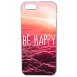 Coque Rigide Pour Apple Iphone 5 - 5s Motif Be Happy Love