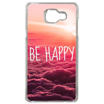 Coque Rigide Pour Samsung Galaxy A3 2017 Motif Be Happy Love